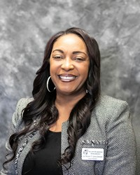 Board Clerk LaShawn Love French